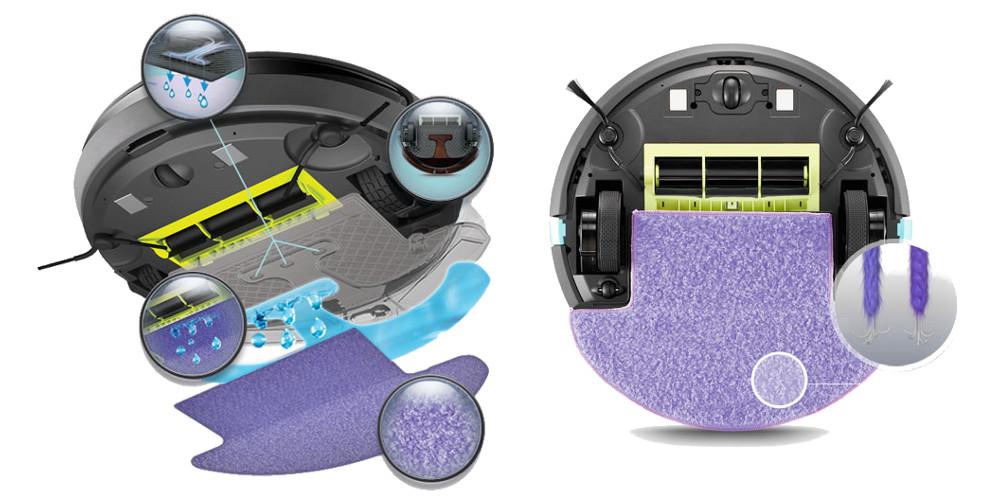 mop robotického umývača podláh Monueal